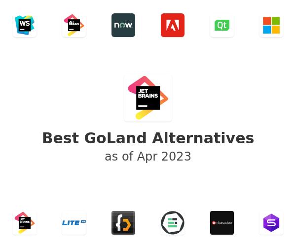 Best GoLand Alternatives