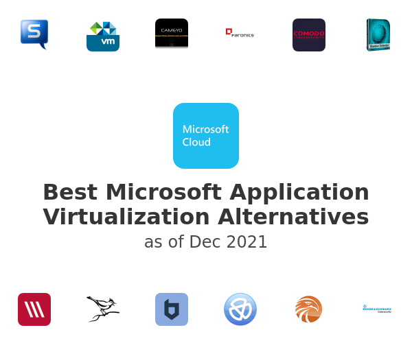 Best Microsoft Application Virtualization Alternatives