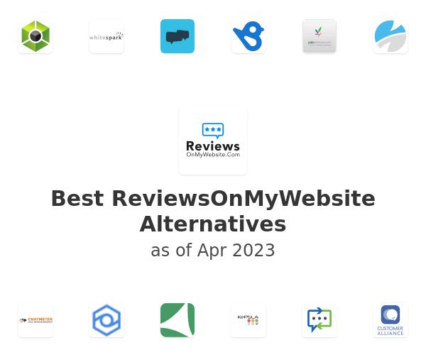 Best ReviewsOnMyWebsite Alternatives