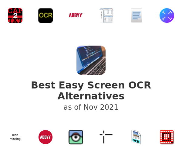 Best Easy Screen OCR Alternatives