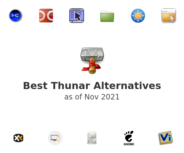 Best Thunar Alternatives