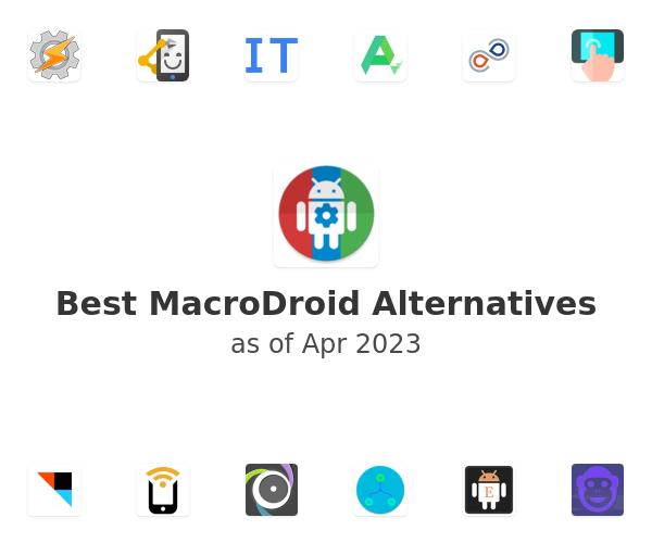 Best MacroDroid Alternatives