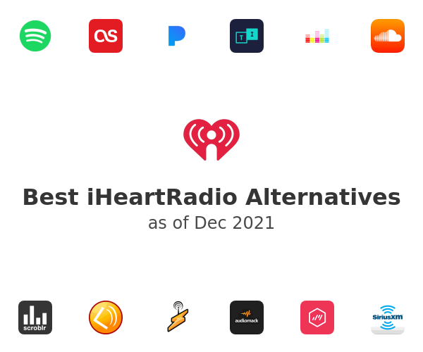 Best iHeartRadio Alternatives