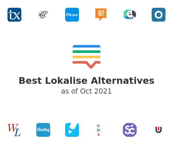 Best Lokalise Alternatives