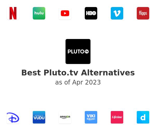 Best Pluto.tv Alternatives