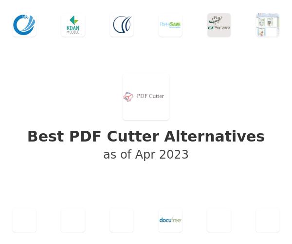 Best PDF Cutter Alternatives