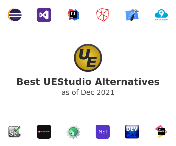 Best UEStudio Alternatives