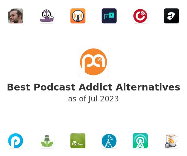Best Podcast Addict Alternatives