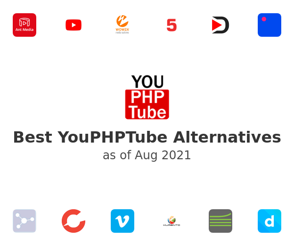 Best YouPHPTube Alternatives