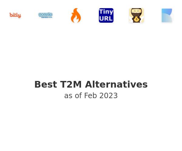 Best T2M - URL Shortener Alternatives