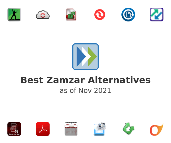 Best Zamzar Alternatives