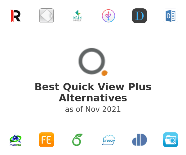 Best Quick View Plus Alternatives