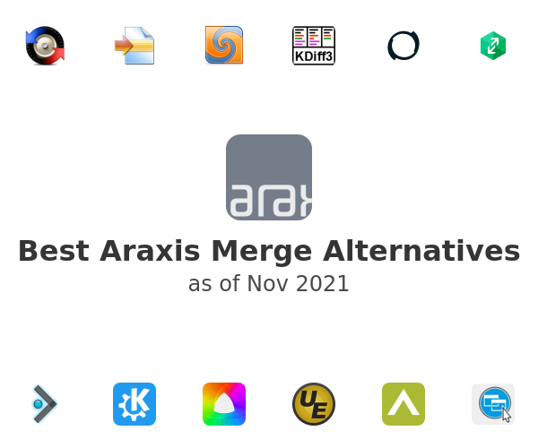 Best Araxis Merge Alternatives