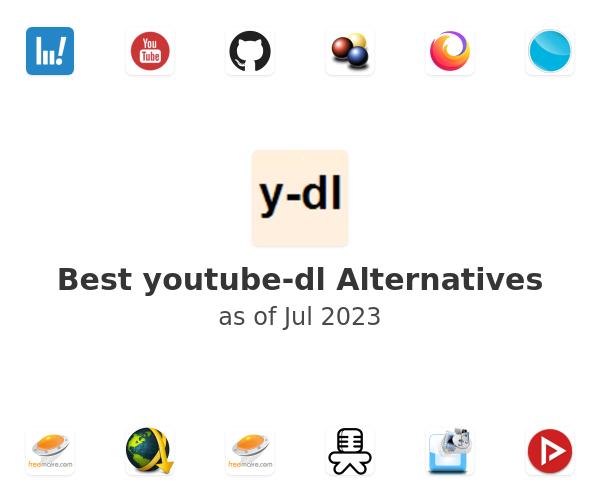 Best youtube-dl Alternatives