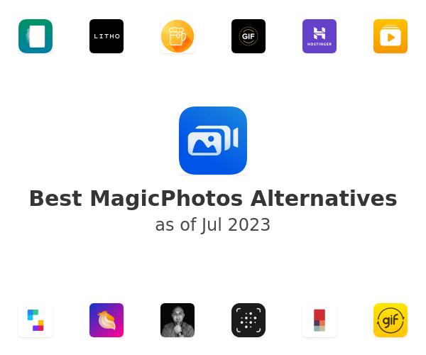 Best MagicPhotos Alternatives