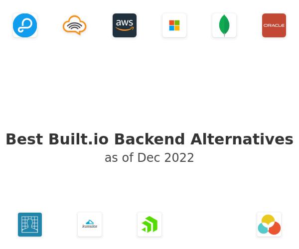 Best Built.io Backend Alternatives