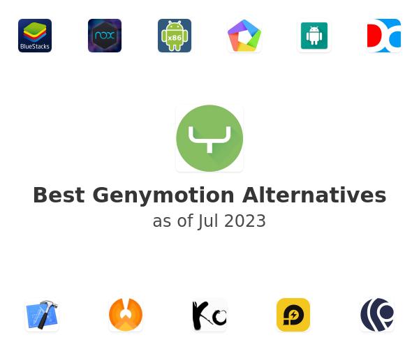 Best Genymotion Alternatives