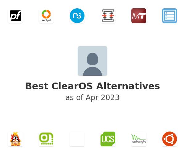 Best ClearOS Alternatives