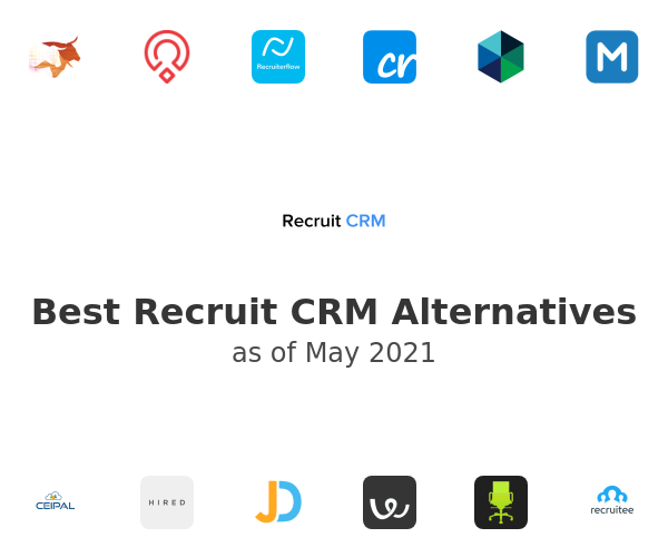 Best Recruit CRM Alternatives
