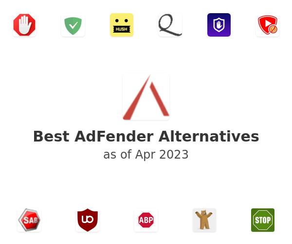Best AdFender Alternatives