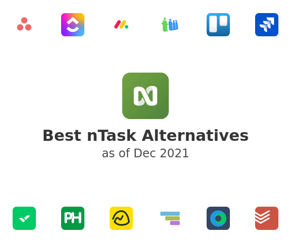Best nTask Alternatives