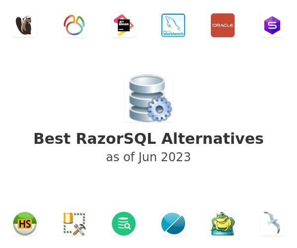 Best RazorSQL Alternatives