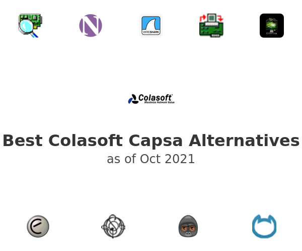 Best Colasoft Capsa Alternatives