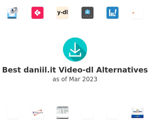 Best Video-dl Alternatives