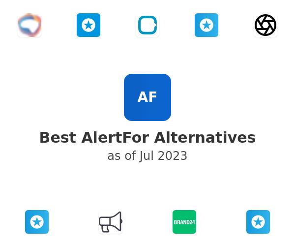 Best AlertFor Alternatives