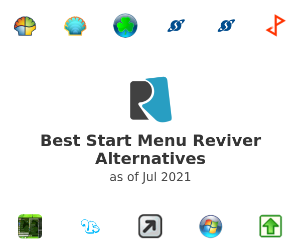 Best Start Menu Reviver Alternatives