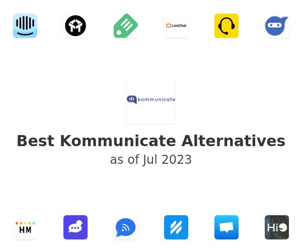 Best Kommunicate Alternatives