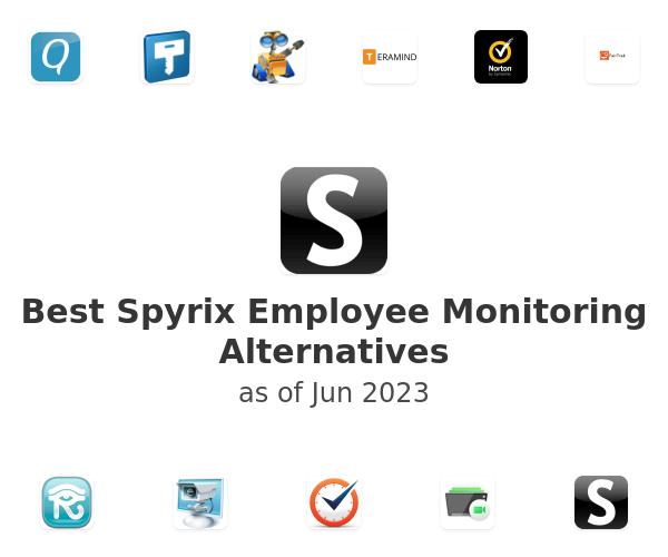 Best Spyrix Employee Monitoring Alternatives