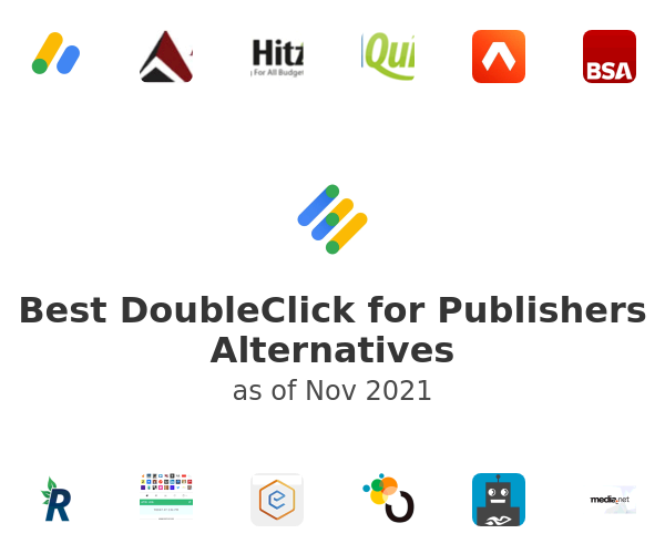 Best DoubleClick for Publishers Alternatives
