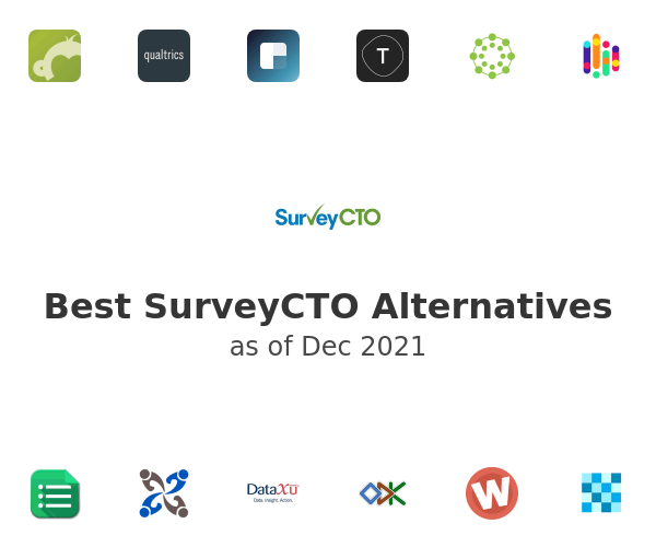 Best SurveyCTO Alternatives