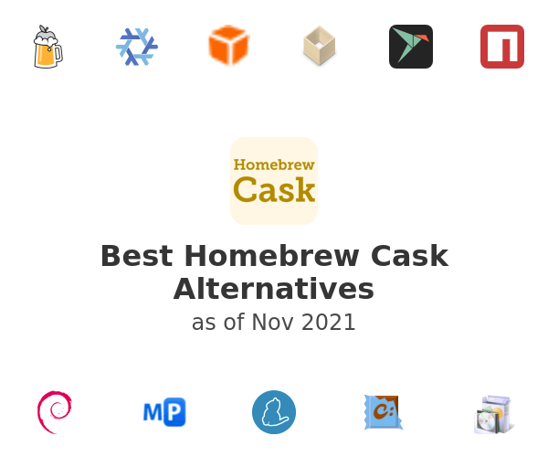 Best Homebrew Cask Alternatives