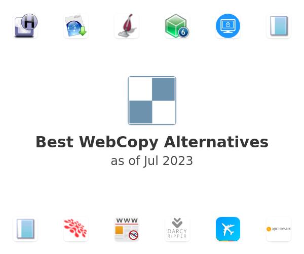 Best WebCopy Alternatives