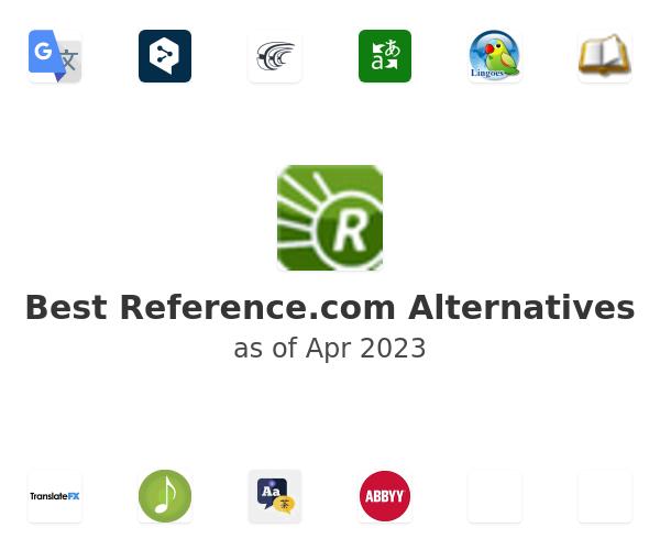 Best Reference.com Alternatives