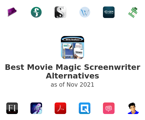 Best Movie Magic Screenwriter Alternatives