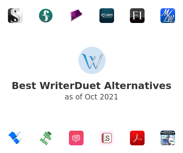 Best WriterDuet Alternatives