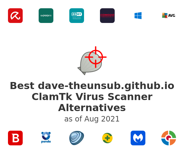 Best ClamTk Virus Scanner Alternatives