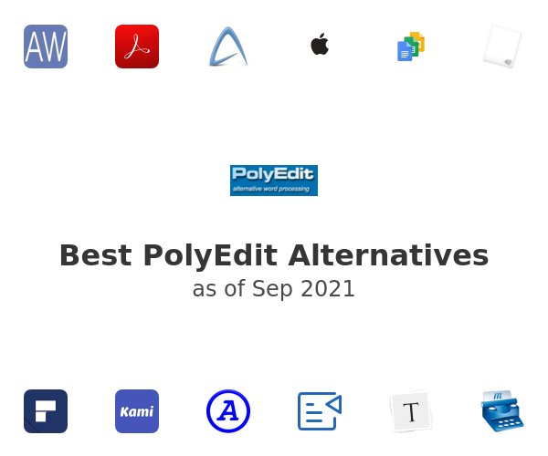 Best PolyEdit Alternatives