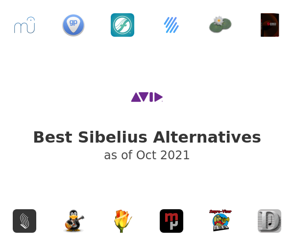 Best Sibelius Alternatives