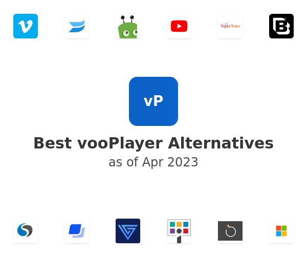 Best vooPlayer Alternatives
