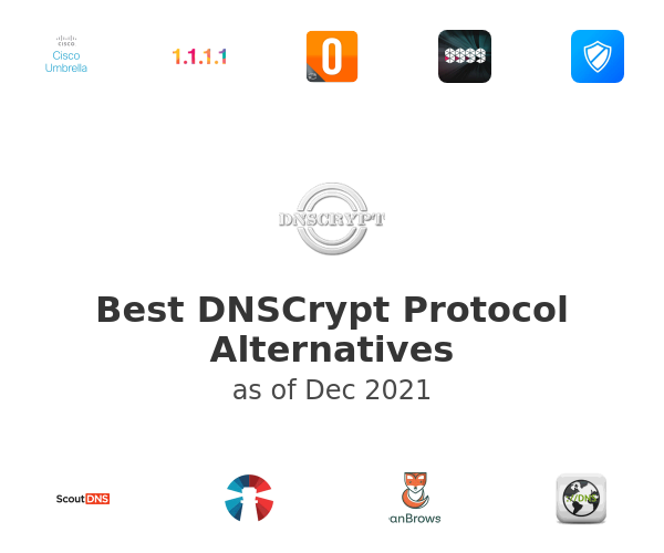 Best DNSCrypt Protocol Alternatives