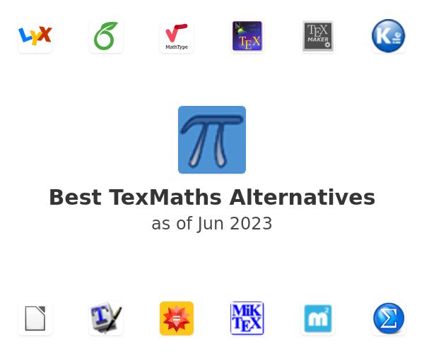 Best TexMaths Alternatives