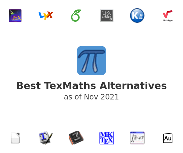 Best TexMaths Alternatives