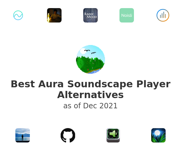 Best Aura Soundscape Player Alternatives
