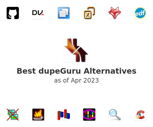 Best dupeGuru Alternatives