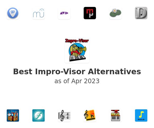 Best Impro-Visor Alternatives