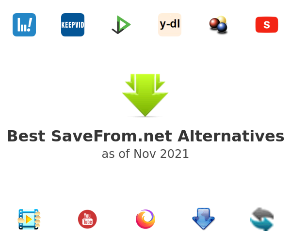 Best SaveFrom.net Alternatives